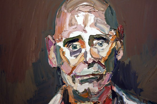 Ben Quilty. 'Air Commodore John Oddie, after Afghanistan, no. 3' 2012 (detail)