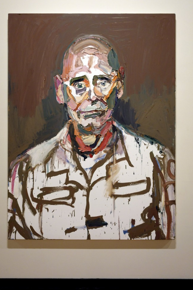 Ben Quilty. 'Air Commodore John Oddie, after Afghanistan, no. 3' 2012