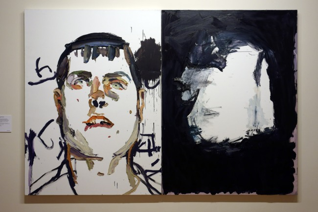 Ben Quilty. 'Trooper Luke Korman' 2012