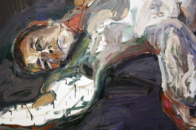 Ben Quilty. 'Trooper M, after Afghanistan, no. 2' 2012 (detail)
