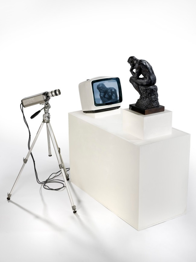 Nam June Paik. 'TV Rodin' 1976-1978