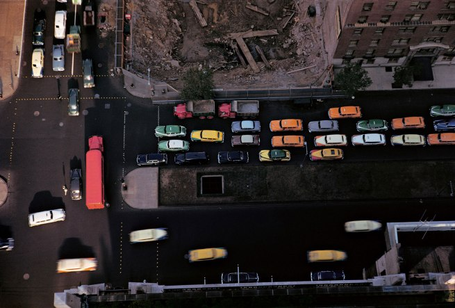 Werner Bischof (1916 - 1954) 'Aerial view of New York City' 1953