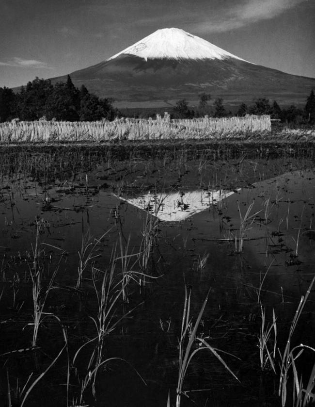 Werner Bischof (Swiss, 1916-1954) 'Mount Fuji, Japan' 1951