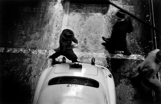 Werner Bischof (Swiss, 1916-1954) 'Pedestrian, New York' 1952