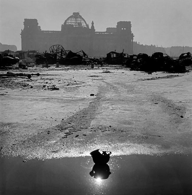 Werner Bischof (Swiss, 1916-1954) 'Ruins of the Reichstag' 1946
