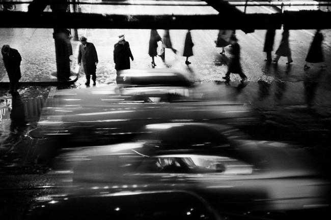 Werner Bischof (Swiss, 1916-1954) 'Rushing cars, New York' 1953