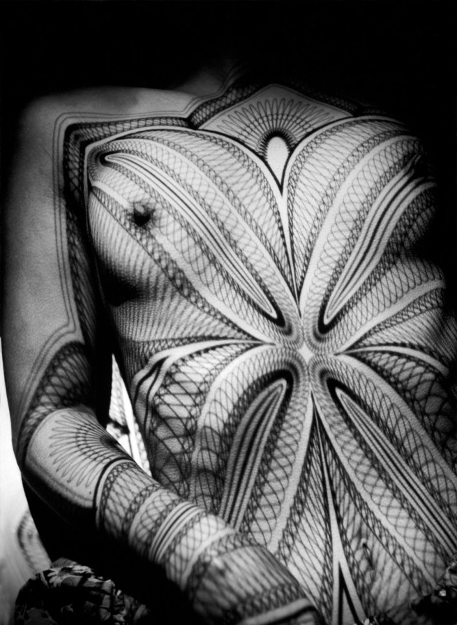 Werner Bischof (1916 - 1954) 'Breast with grid' Zurich, Switzerland 1941