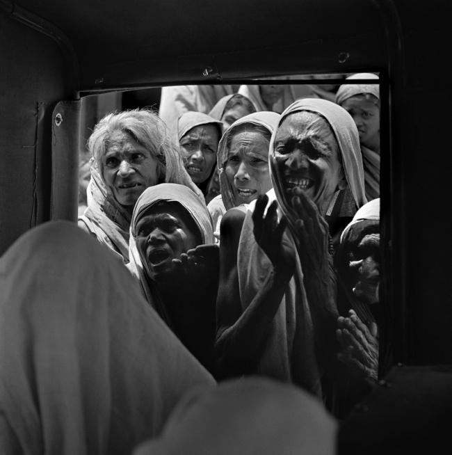 Werner Bischof (1916 - 1954) 'Famine stricken area' State of Bihar, India, April 1951