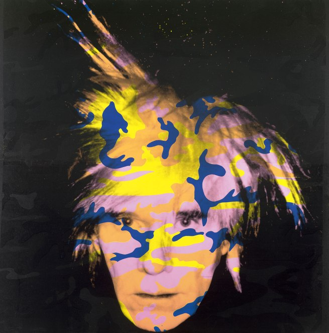 Andy Warhol (American 1928-87) 'Self-Portrait No. 9' 1986