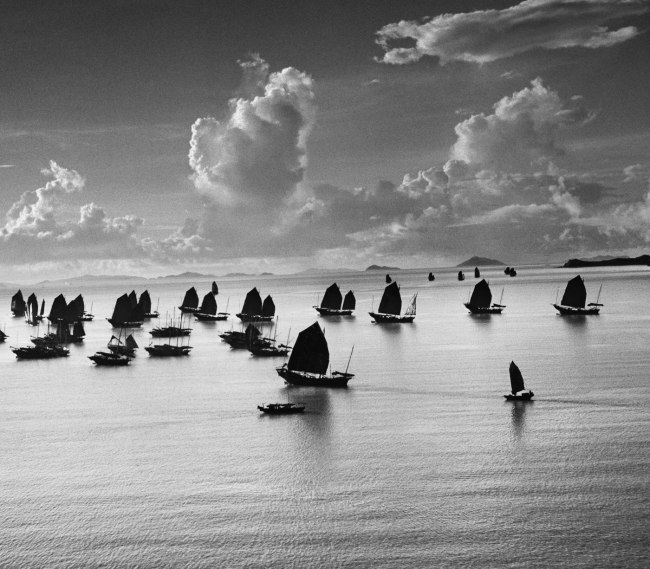 Werner Bischof (1916 - 1954) 'Harbour of Kowloon' Hong Kong, China 1952