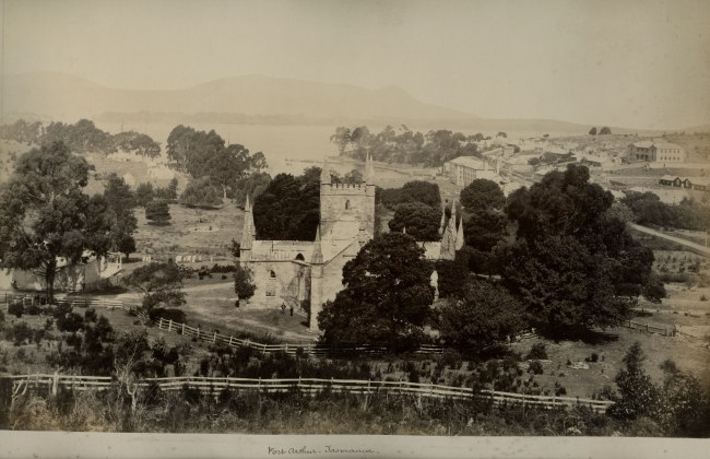 Unknown photographer. 'Port Arthur, Tasmania' 1891