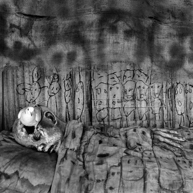 Roger Ballen. 'Deathbed' 2010