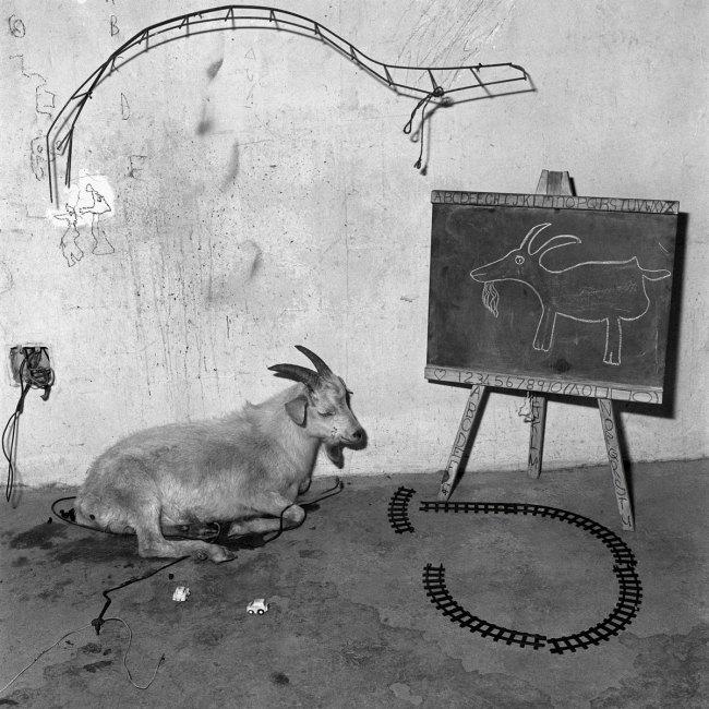Roger Ballen. 'School Room' 2003