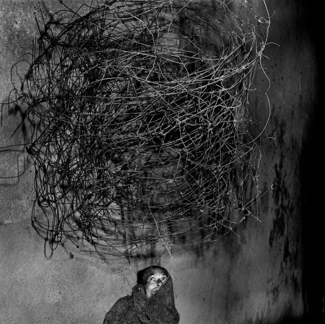 Roger Ballen. 'Twirling Wires' 2001