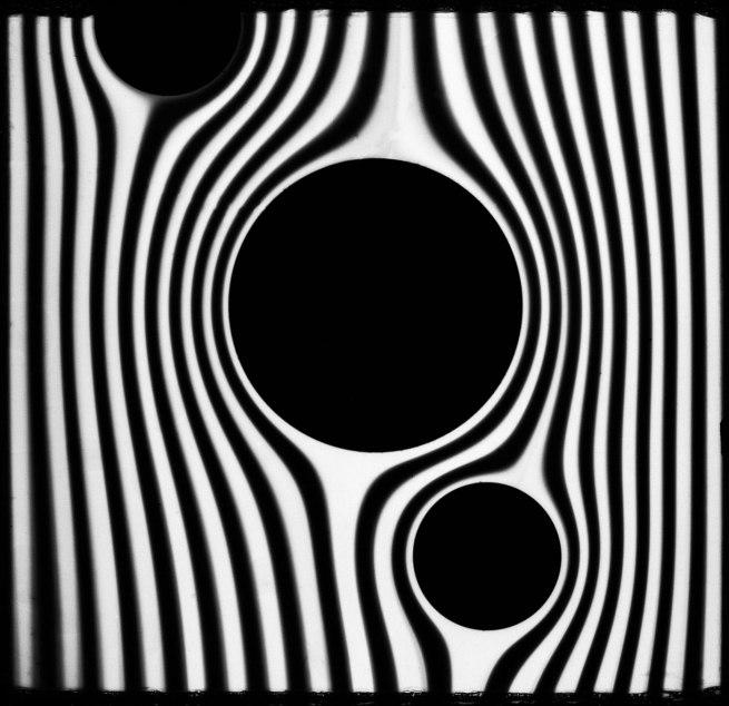 Werner Bischof 'Streams' (darkroom drawing), 1941