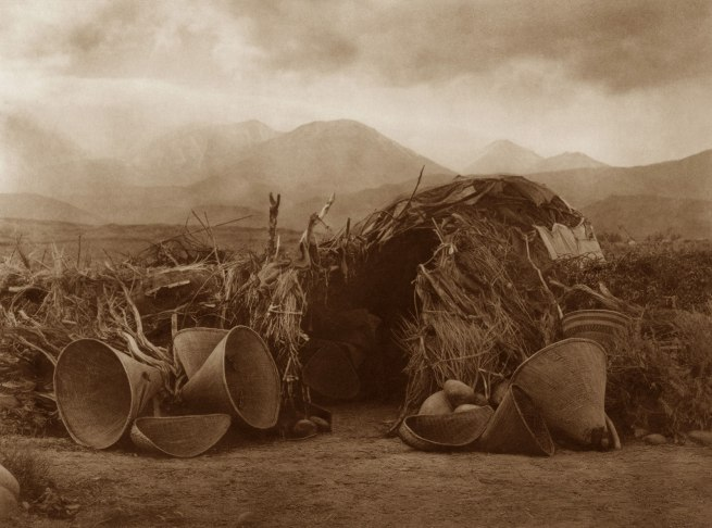 Edward S. Curtis (1868 - 1952) 'A Mono Home' 1924