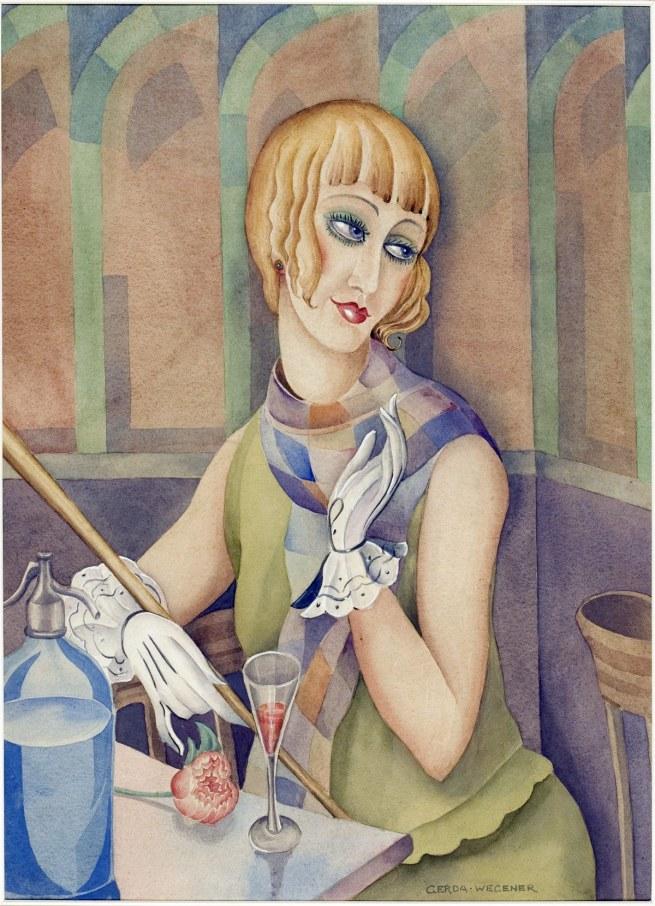 Gerda Wegener. 'Lili Elbe' c. 1928