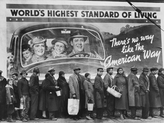 Margaret Bourke-White (American, 1904-1971) 'At the Time of the Louisville Flood' 1937