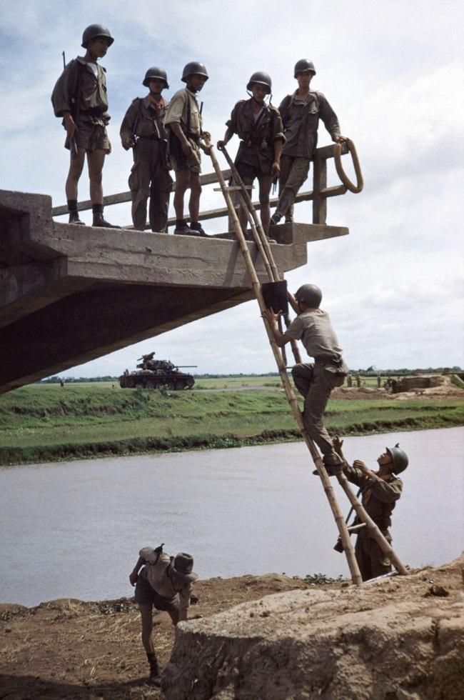 Robert Capa (1913 - 1954) 'West of Namdinh, Indochina (Vietnam)' May 1954