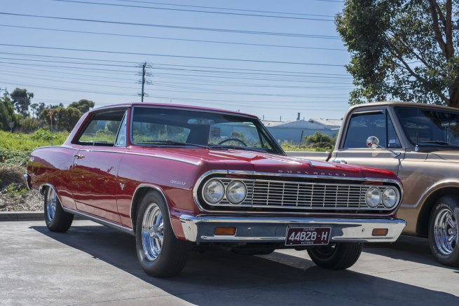 Andrew Follows. '1964 Chevrolet Chevelle' 2016