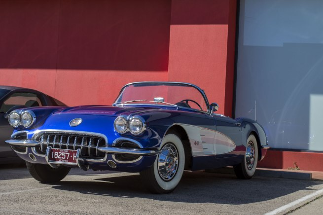 Andrew Follows. '1958 Chevrolet Corvette Convertible Coupe' 2016