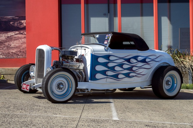 Andrew Follows. '1930s Chevrolet hotrod' 2016