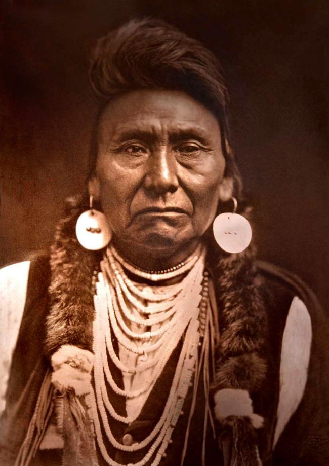 Edward S. Curtis (1868 - 1952) 'Chief Joseph - Nez Perce' 1903