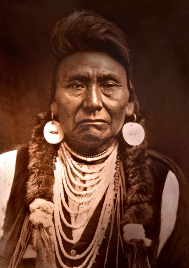 Edward S. Curtis (1868 - 1952) 'Chief Joseph - Nez Perce' 1903