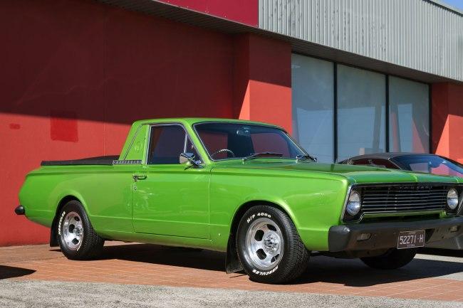Andrew Follows. '1966-67 Chrysler Valiant Wayfarer ute' 2016