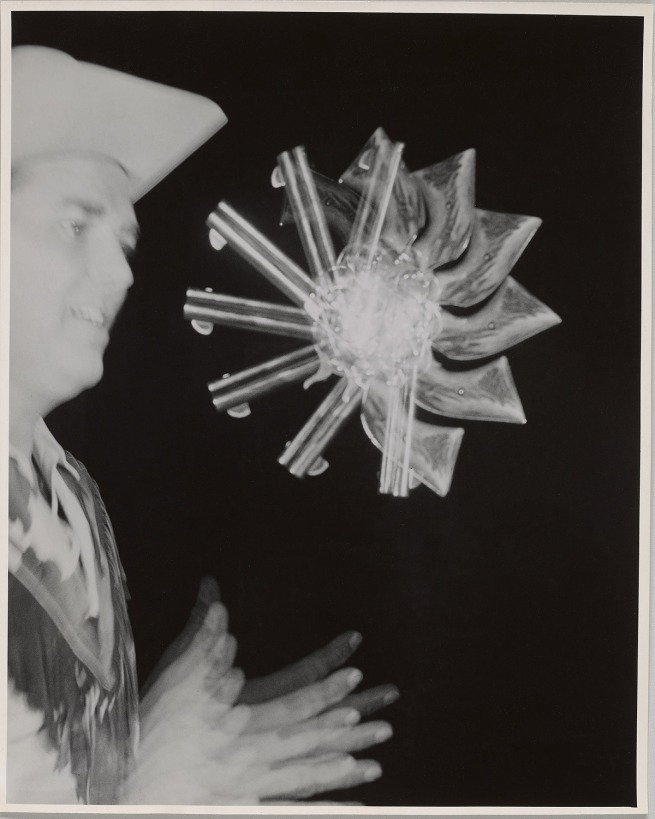 Harold Edgerton (American, 1903-1990) 'Gun Toss' 1936-50