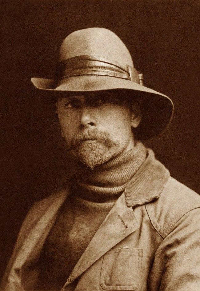 Edward S. Curtis (1868 - 1952) 'Self Portrait' 1899