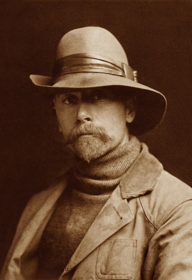 Edward S. Curtis (1868 - 1952) 'Self Portrait' 1899