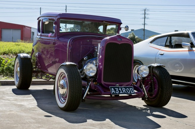 Andrew Follows. '1930s Ford hotrod' 2016