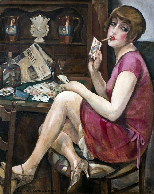 Gerda Wegener. 'Queen of Hearts (Lili)' 1928