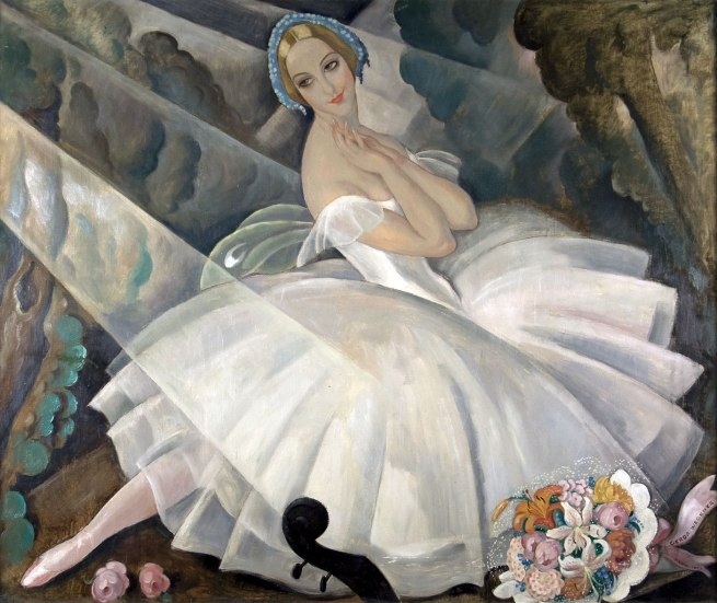Gerda Wegener. 'The Ballerina Ulla Poulsen in the Ballet Chopiniana' Paris, 1927