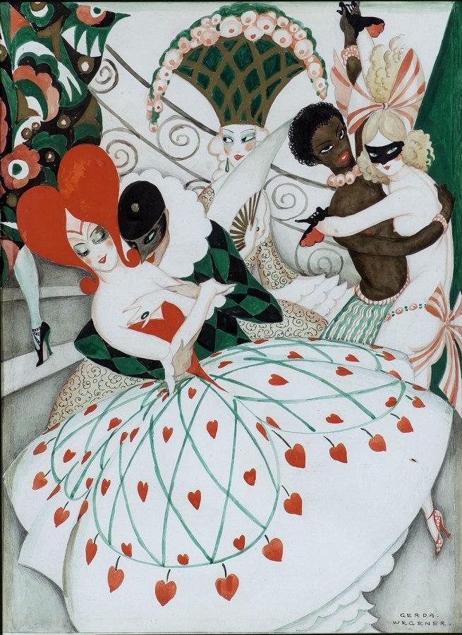 Gerda Wegener. 'The Carnival' c. 1925