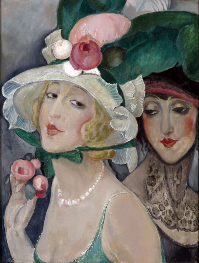 Gerda Wegener. 'Two Cocottes with Hats' c. 1925