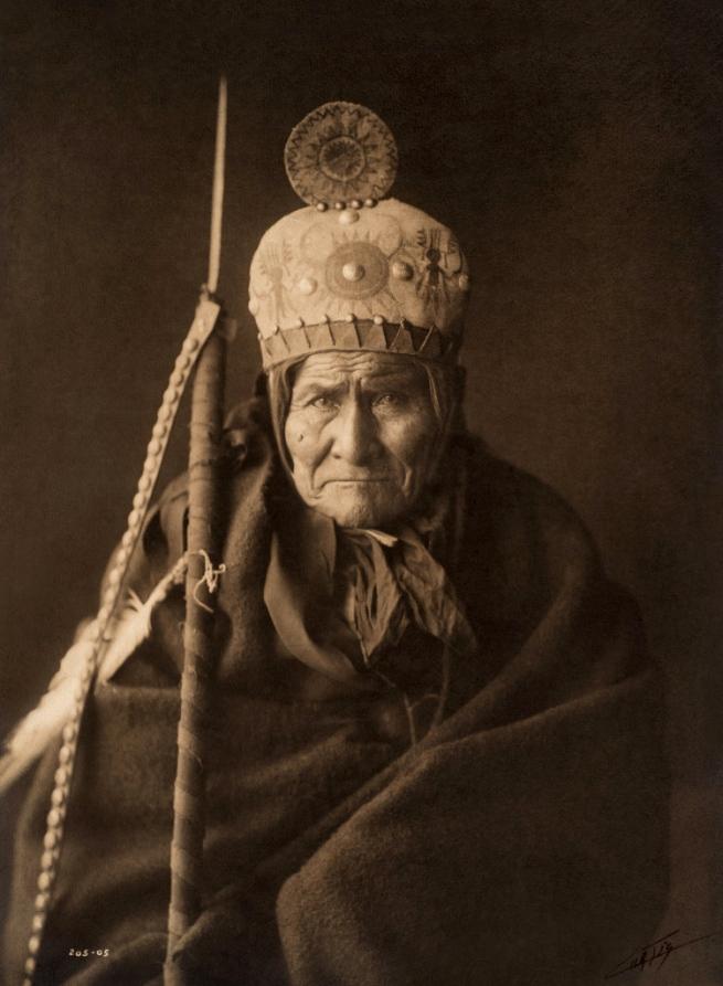 Edward S. Curtis (1868 - 1952) 'Geronimo - Apache' 1905