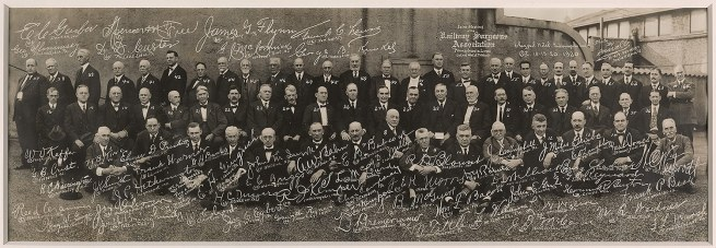 Gravelle Studio, Indianapolis (American, active 1920) 'Joint Meeting of the Railway Surgeons Association, Claypool Hotel, Indianapolis' 1920