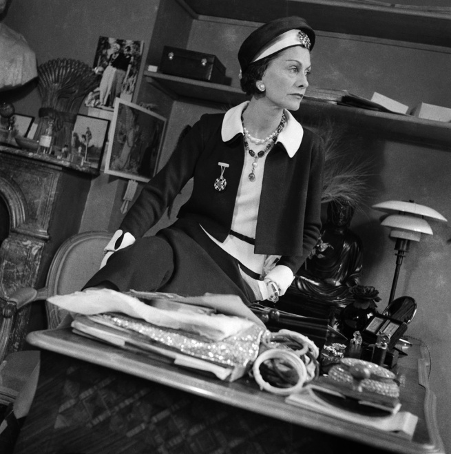 François Kollar (1904 - 1979) 'Gabrielle Chanel' 1938