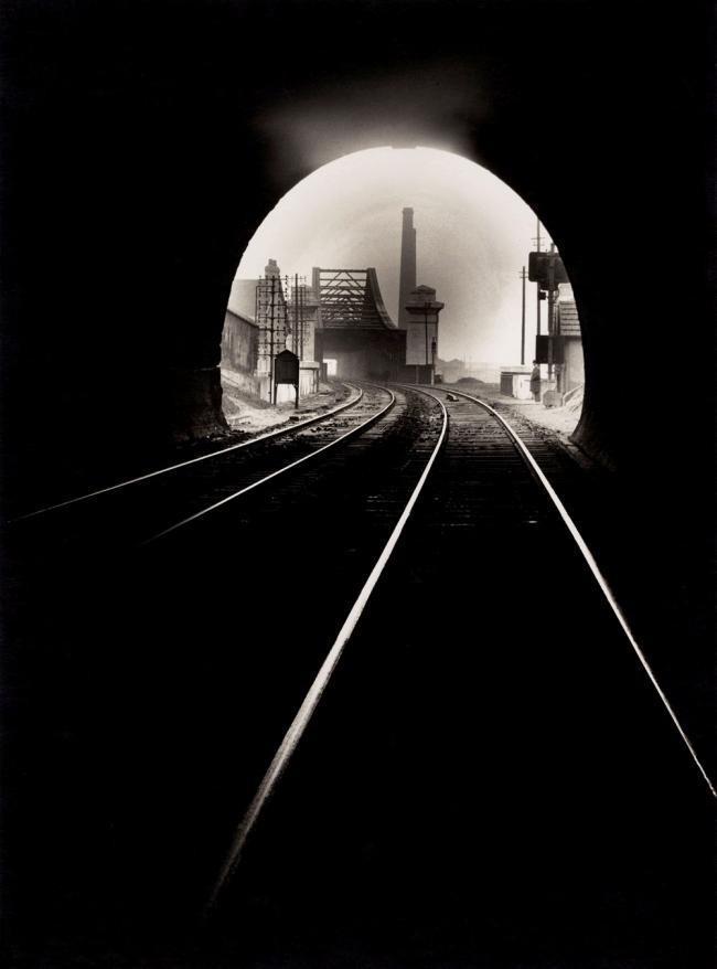 François Kollar. 'Bouche du tunnel Sainte-Catherine, Sotteville-lés-Rouen' 1931-1932