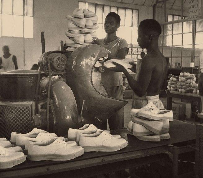 François Kollar. 'Chaussures Bata, Rufisque, Senegal' 1951
