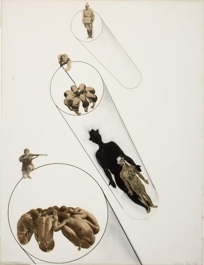 László Moholy-Nagy (American, b. Hungary, 1895-1946) 'Massenpsychose' (Mass Psychosis) 1927
