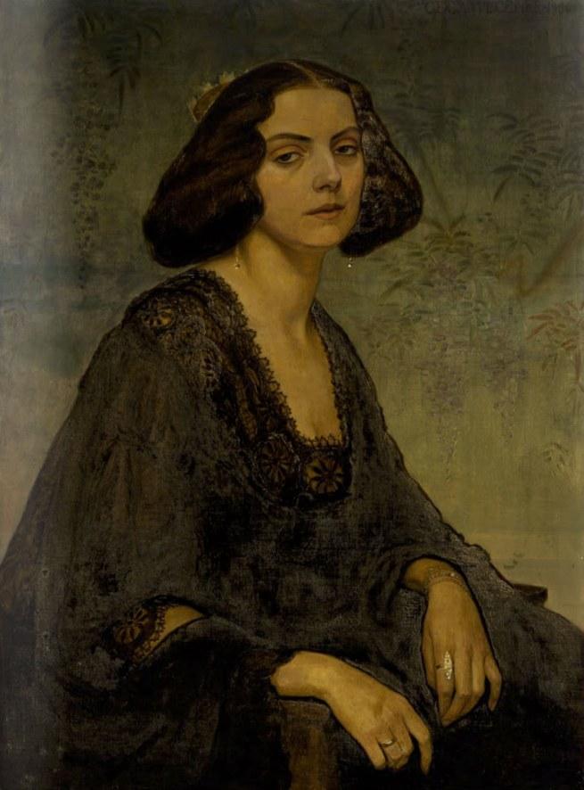 Gerda Wegener. 'Portrait of Ellen von Kohl' 1906