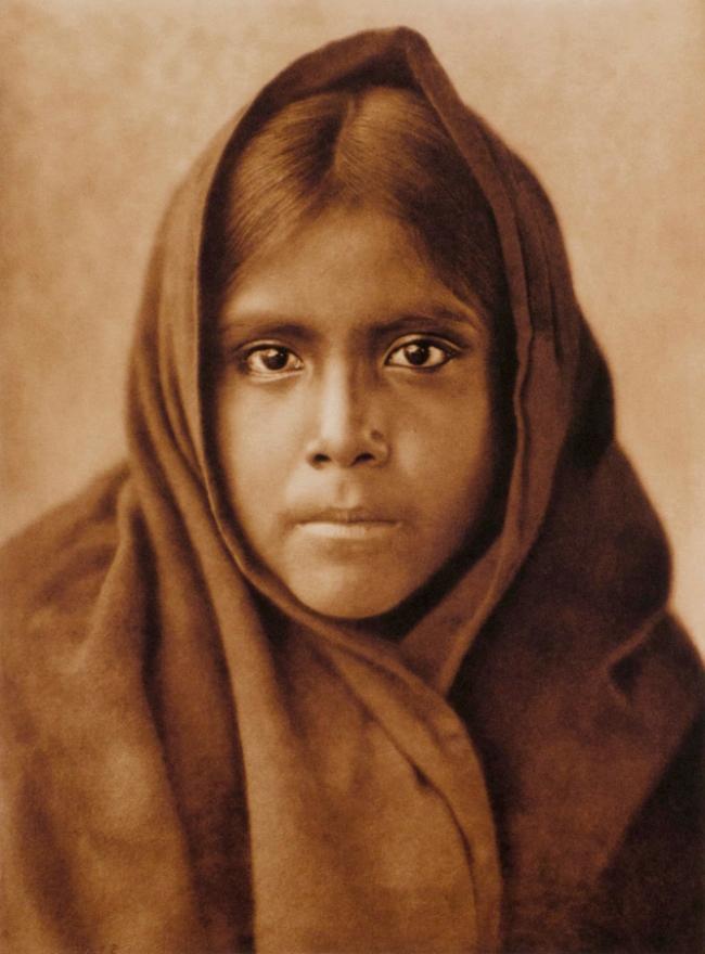 Edward S. Curtis (1868 - 1952) 'Qahatika Girl' 1907