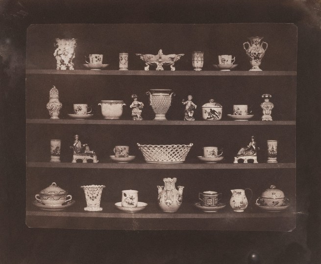William Henry Fox Talbot (British, 1800-1877) 'Articles of China' c. 1843, printed c. 1845