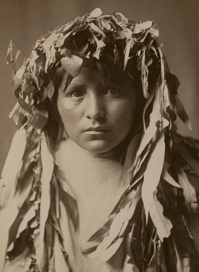 Edward S. Curtis (1868 - 1952) 'The Apache Maiden' 1906
