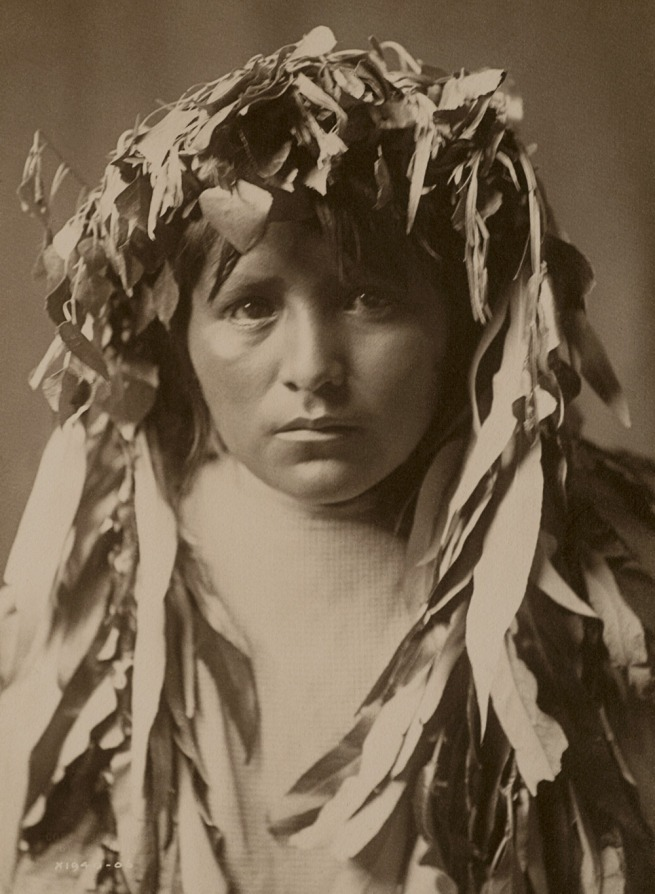 Edward S. Curtis (1868 - 1952) 'The Apache Maiden' 1906