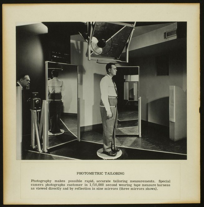 PhotoMetric Corporation, 1942-74 'PhotoMetric Tailoring' c. 1942-48