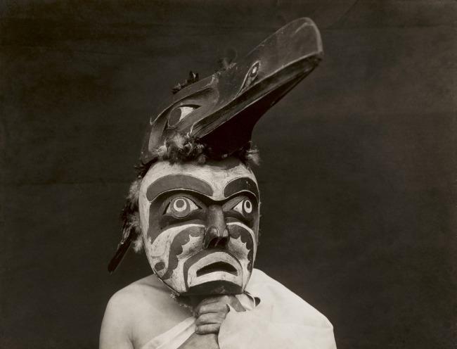Edward S. Curtis (1868 - 1952) 'Untitled (Raven-ma) - Qagyuhl' 1914